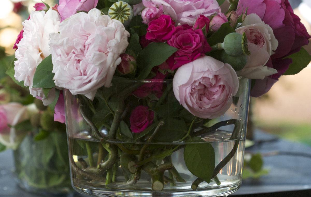 Hanakubari flores de jardín rosas Tata Flowers